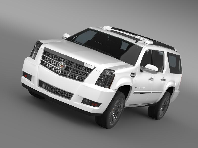Cadillac Escalade 2011 Platinum ESV