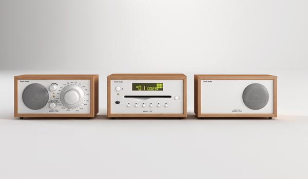 Tivoli Audio RadioCombo 3D Models