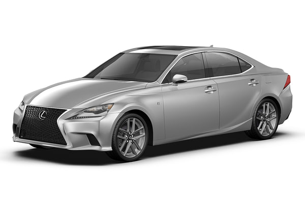 2014 Lexus IS 3D Models