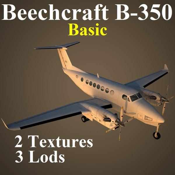 B350 Basic 3D Models