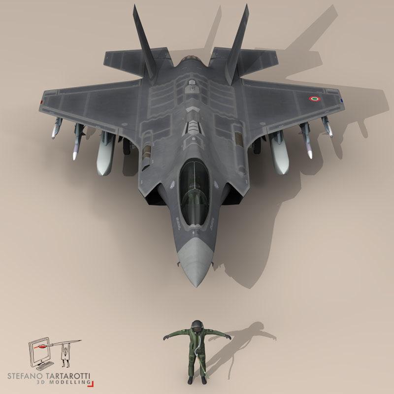 pilot   air force 3d model