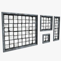 fixed window 3D models
