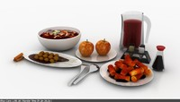 Soup Bowl 3D models