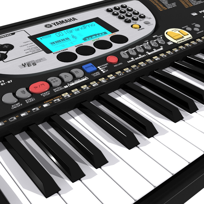 Keyboard yamaha 3d model for Yamaha professional keyboard price