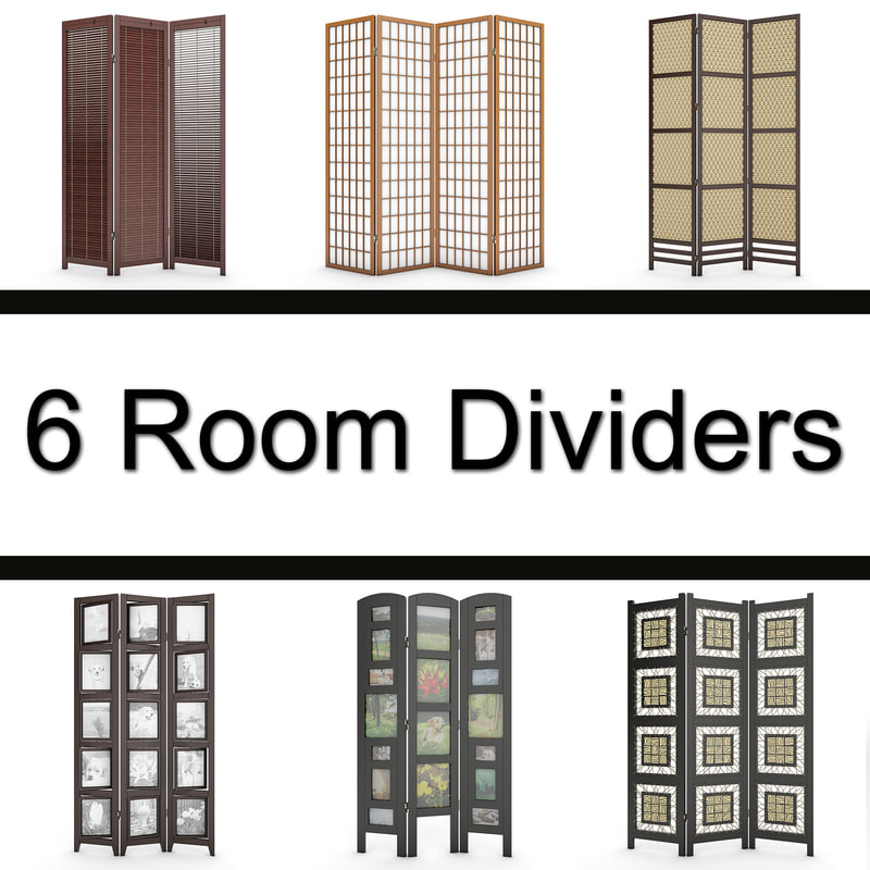 6 Room Dividers