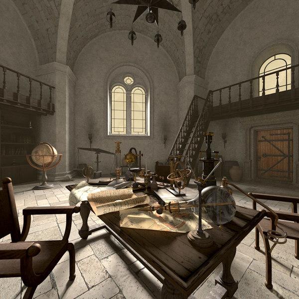 Alchemist Laboratory 3D Models