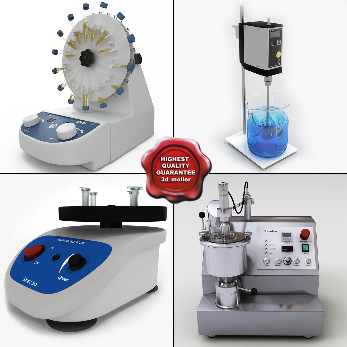 Laboratory Mixers Collection v2