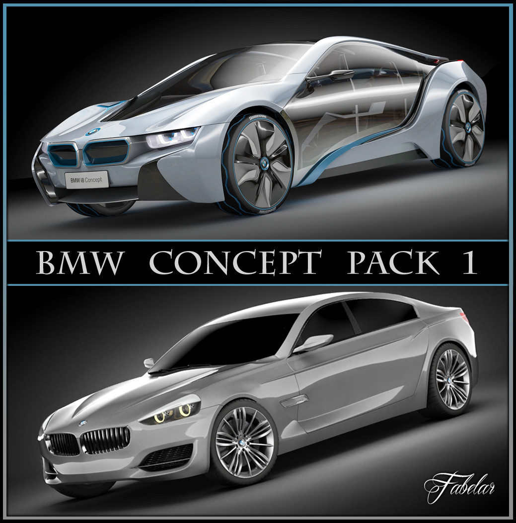 BMW concept pack 1