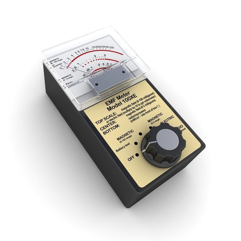 Electromagnetic Field Meter : Electromagnetic field meter d ds