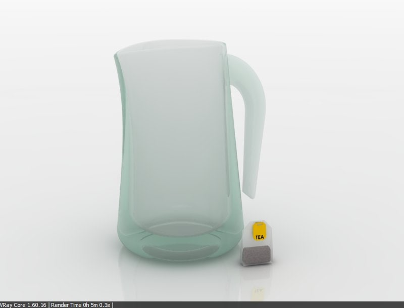 3d jar tea bag