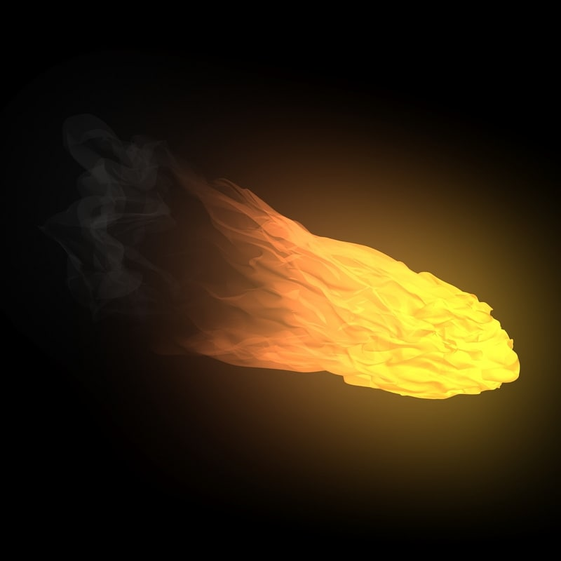 Fireball Animation