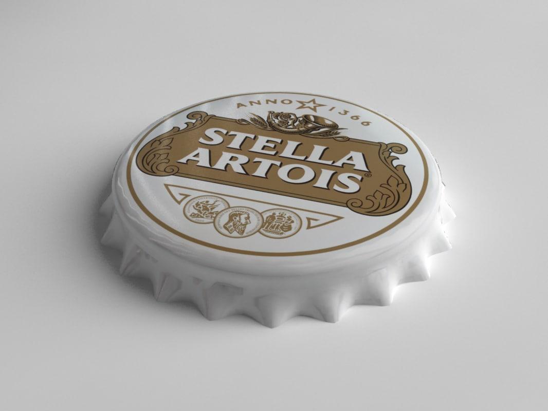 Stella Artois Bottle Tin Cap