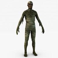 Mummy 3D models