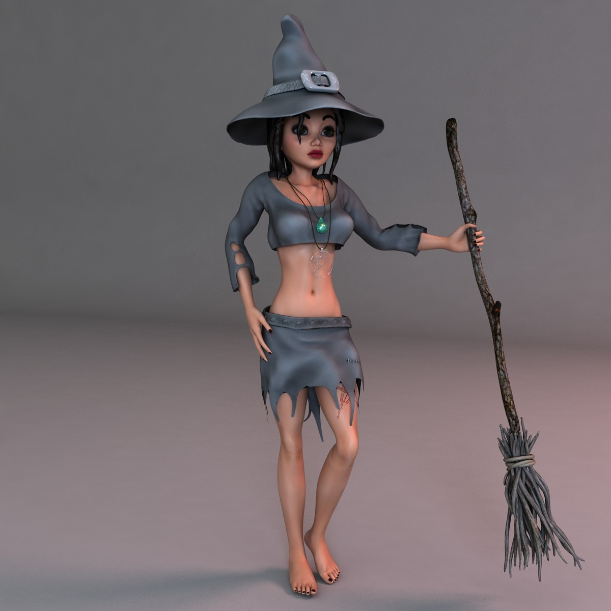 Witch Rigged
