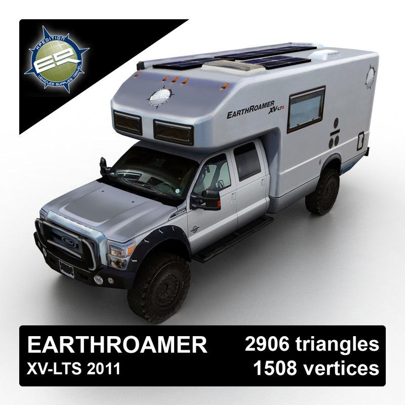 2011 earthroamer xv lts 3d model