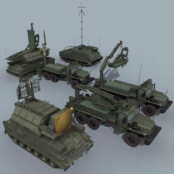 SA-15 battery 3D Models