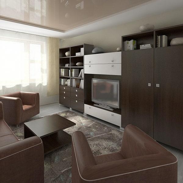 Apartment 2 3D Models