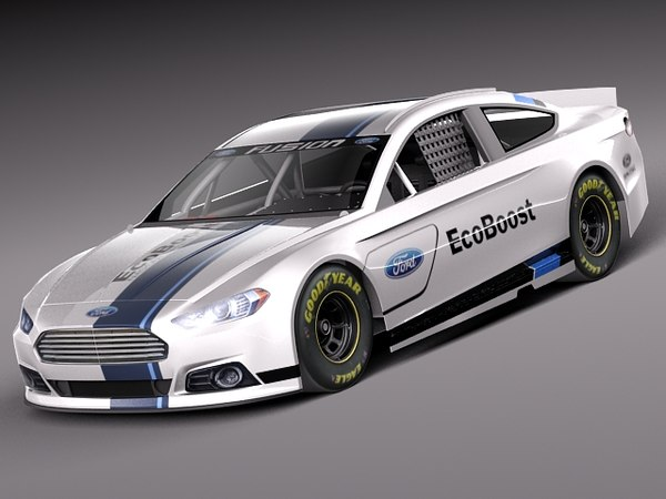Ford Fusion NASCAR 2013 3D Models
