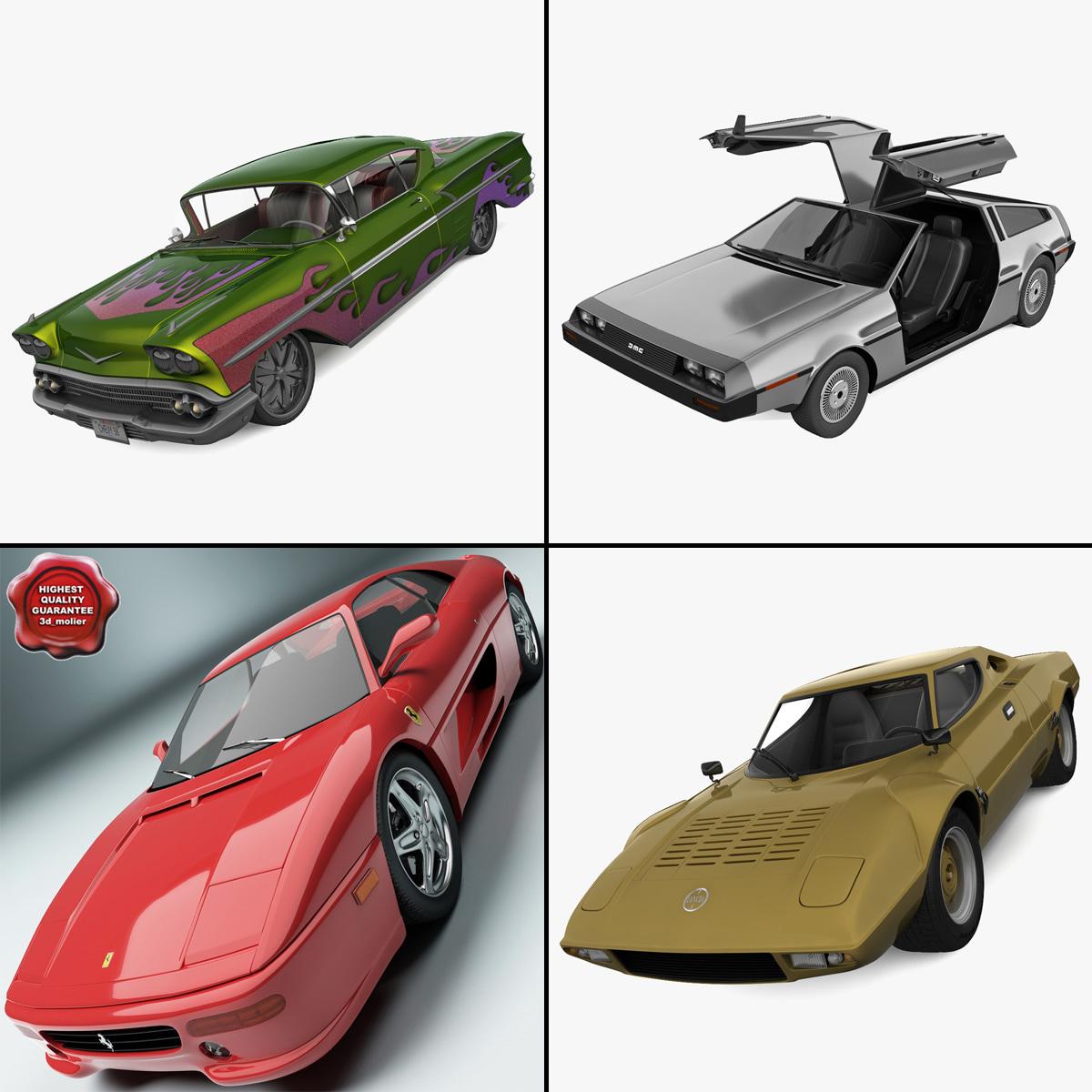 Retro Cars Collection 16