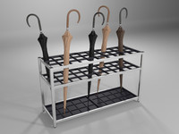umbrella rack 3D models