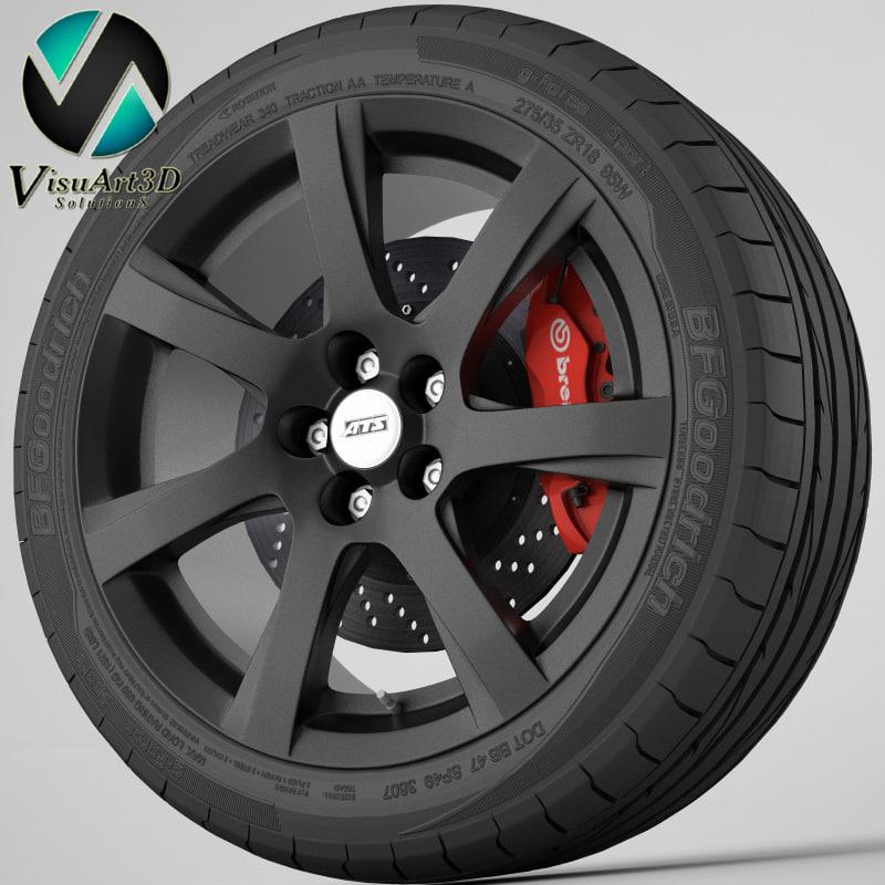 wheel ATS Twist