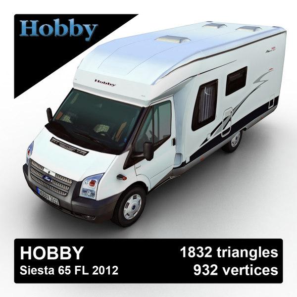 Hobby Siesta 65 FL 2012 3D Models