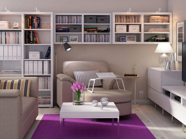 IKEA Living Room 3D Models