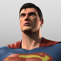 Superman 3D models