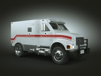 armored car 3D models