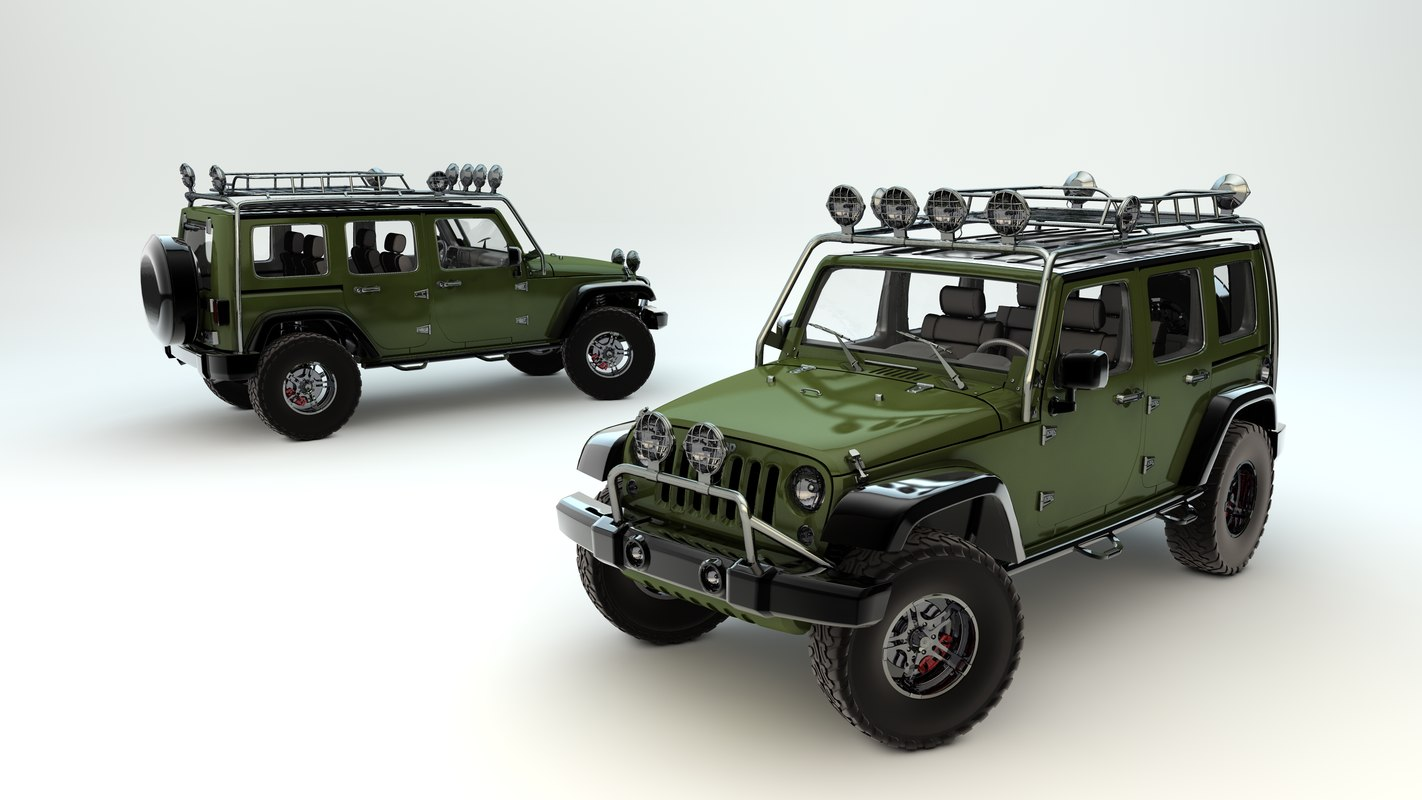 Jeep Wrangler Unlimited Supercharged