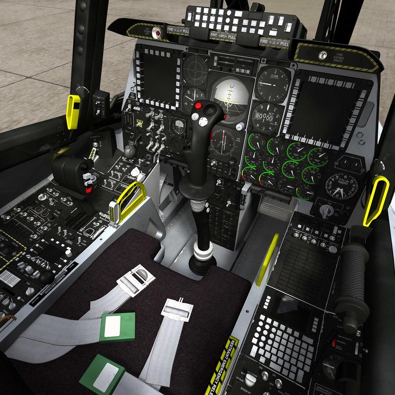 3ds max a10 cockpit