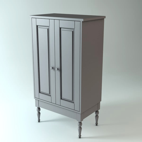 ikea cabinet 3ds