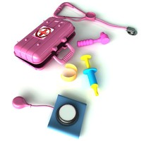 medical toy 3D models