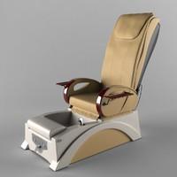 pedicure chair 3D models