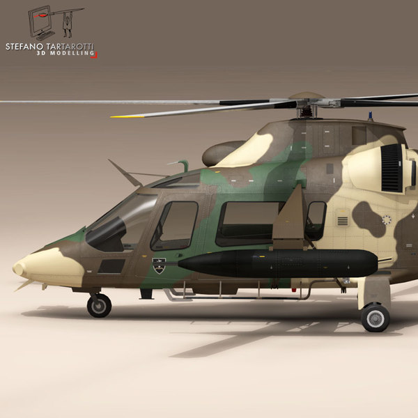AW109LUH South Africa 3D Models