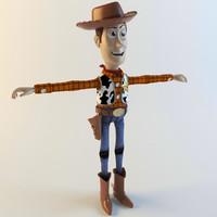 Woody 3D models
