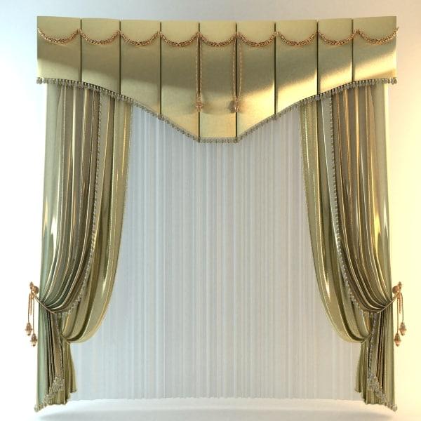Elegant Tall Curtain