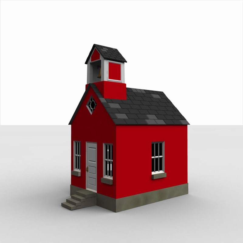 Another Little Red Schoolhouse