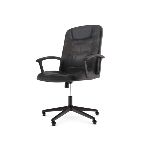 Leather office chair 3D Models