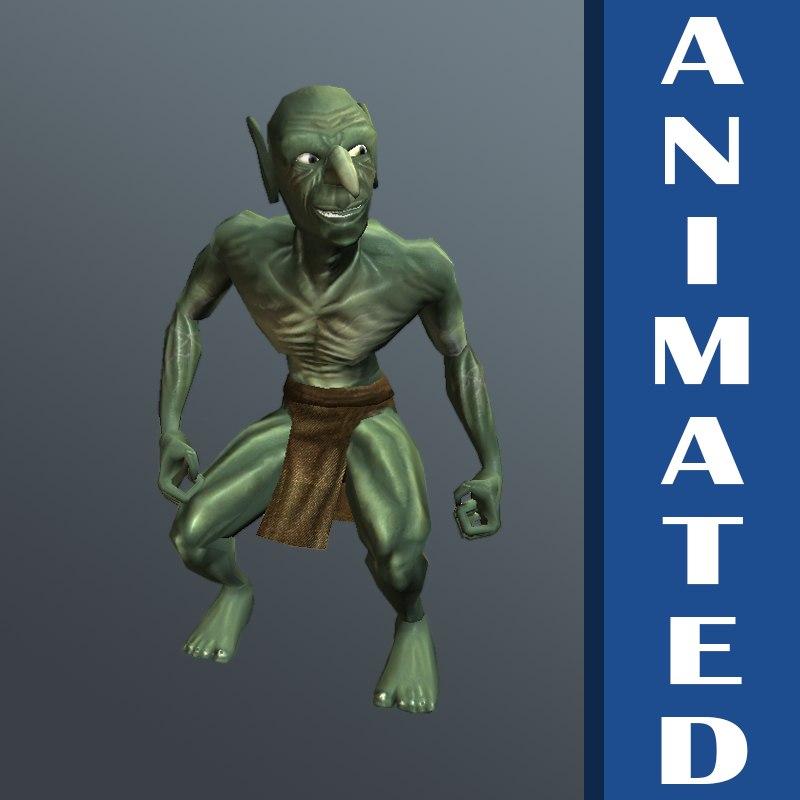 Animated Goblin