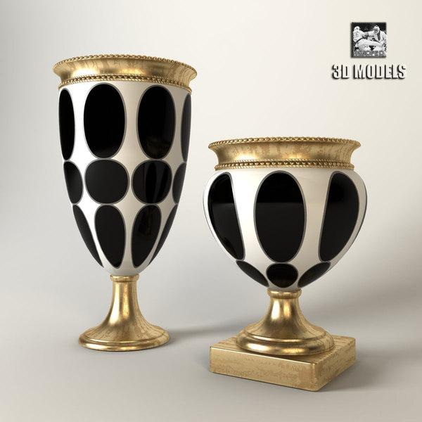 Vases Sigma Elle Due 3D Models