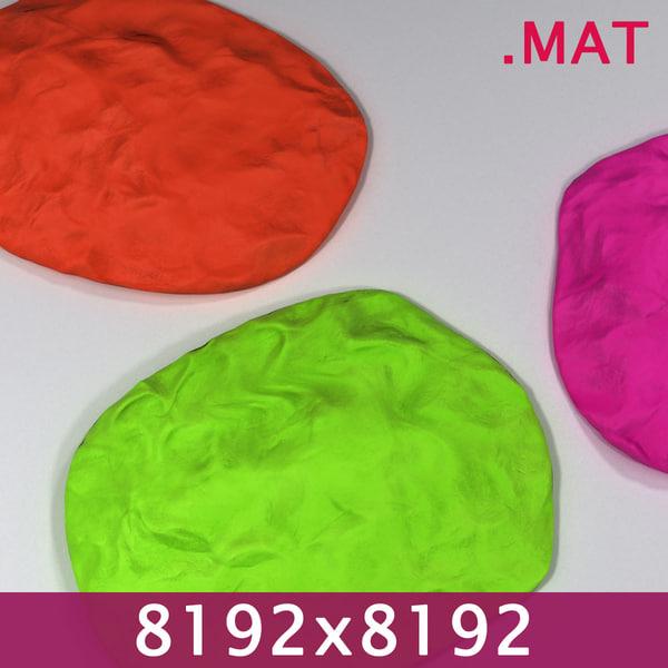 PlayDoh Clay 8192x Material 3D Models