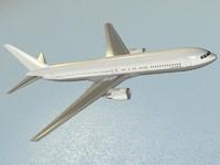 Boeing 767-300ER 3D models