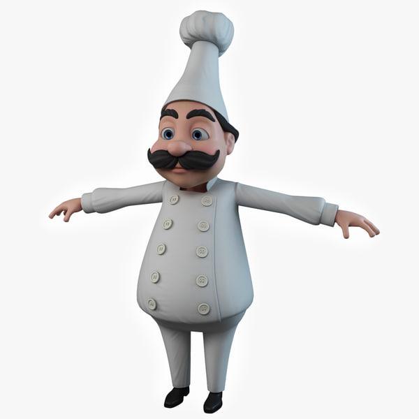 Chef 3D Models