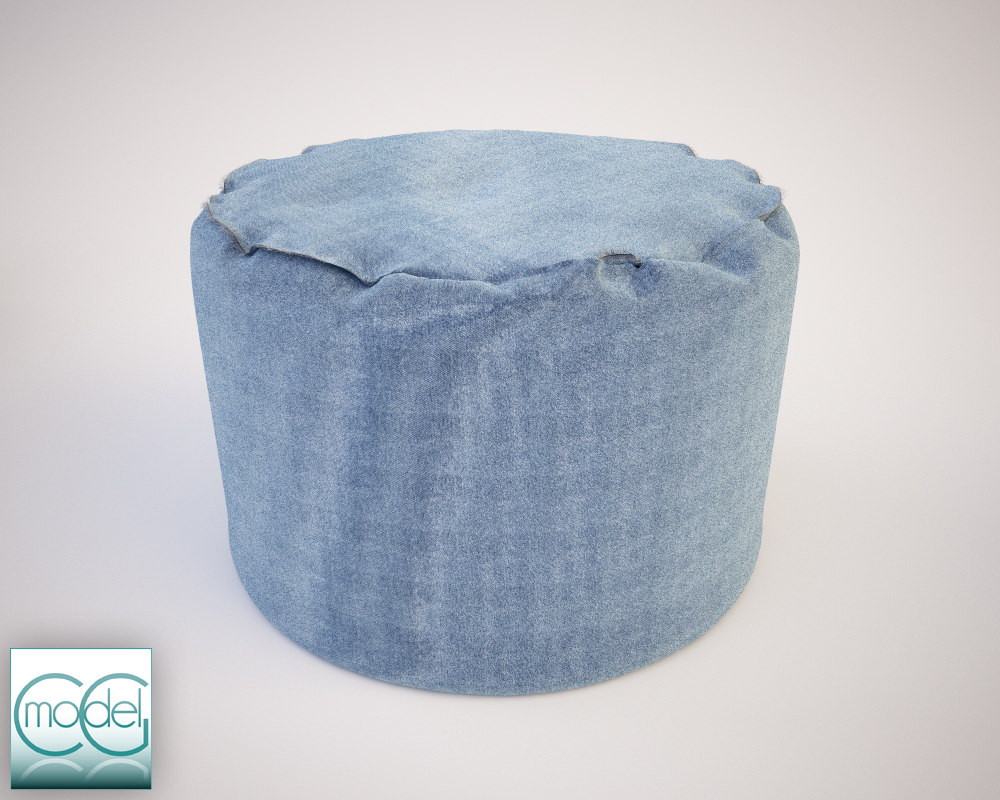round pouf 14