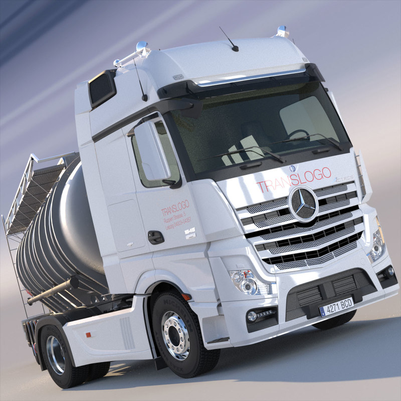 Mercedes Actros MP4 GigaSpace with ADR Tanker