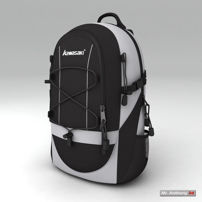 3d tetoron bags knapsack