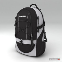 Camping Backpack 3D models