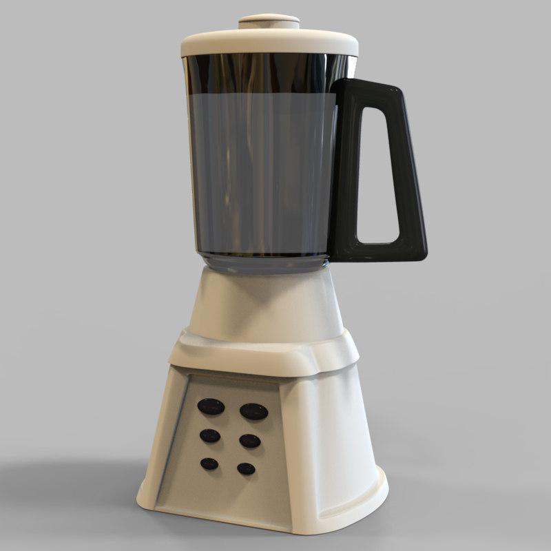 3d model mixer blender mix