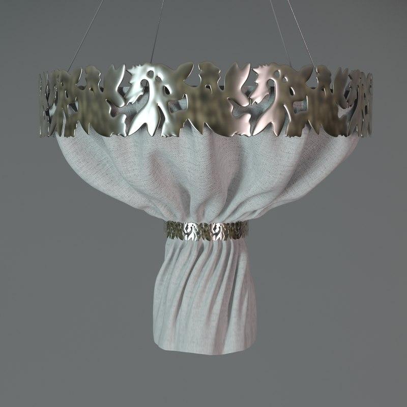 emporio san firenze-drappo ceiling light